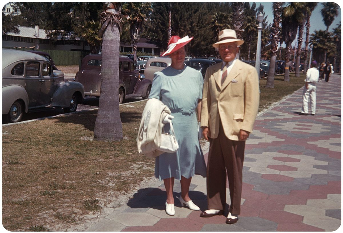 Florida 1940s Kodachrome