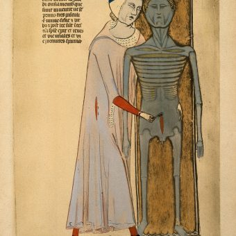 Guido da Vigevano's Art of The Cadaver (1345)