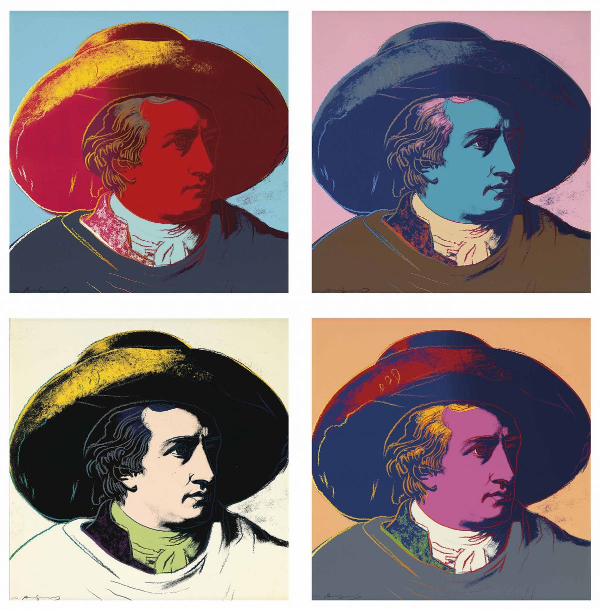 goethe warhol colour