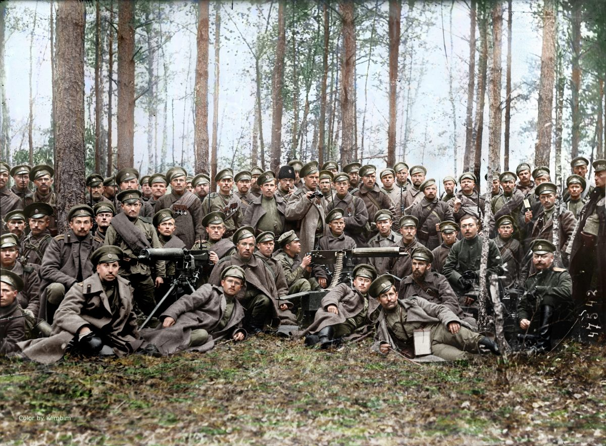 Karel VašátkoRussia color World War 1 colour