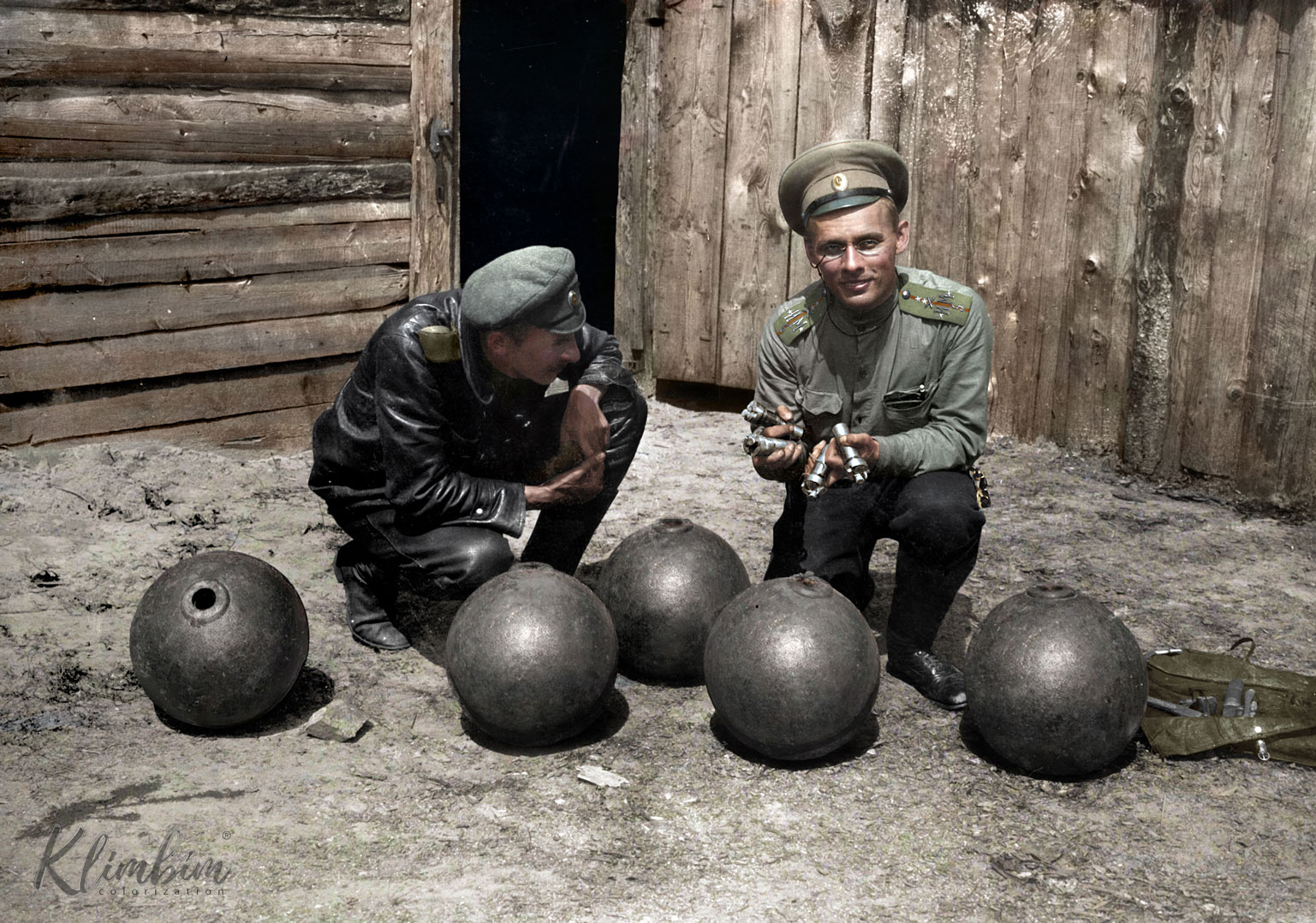 Captivating Colorized Portraits Of Russian Fighters In World War 1 Flashbak