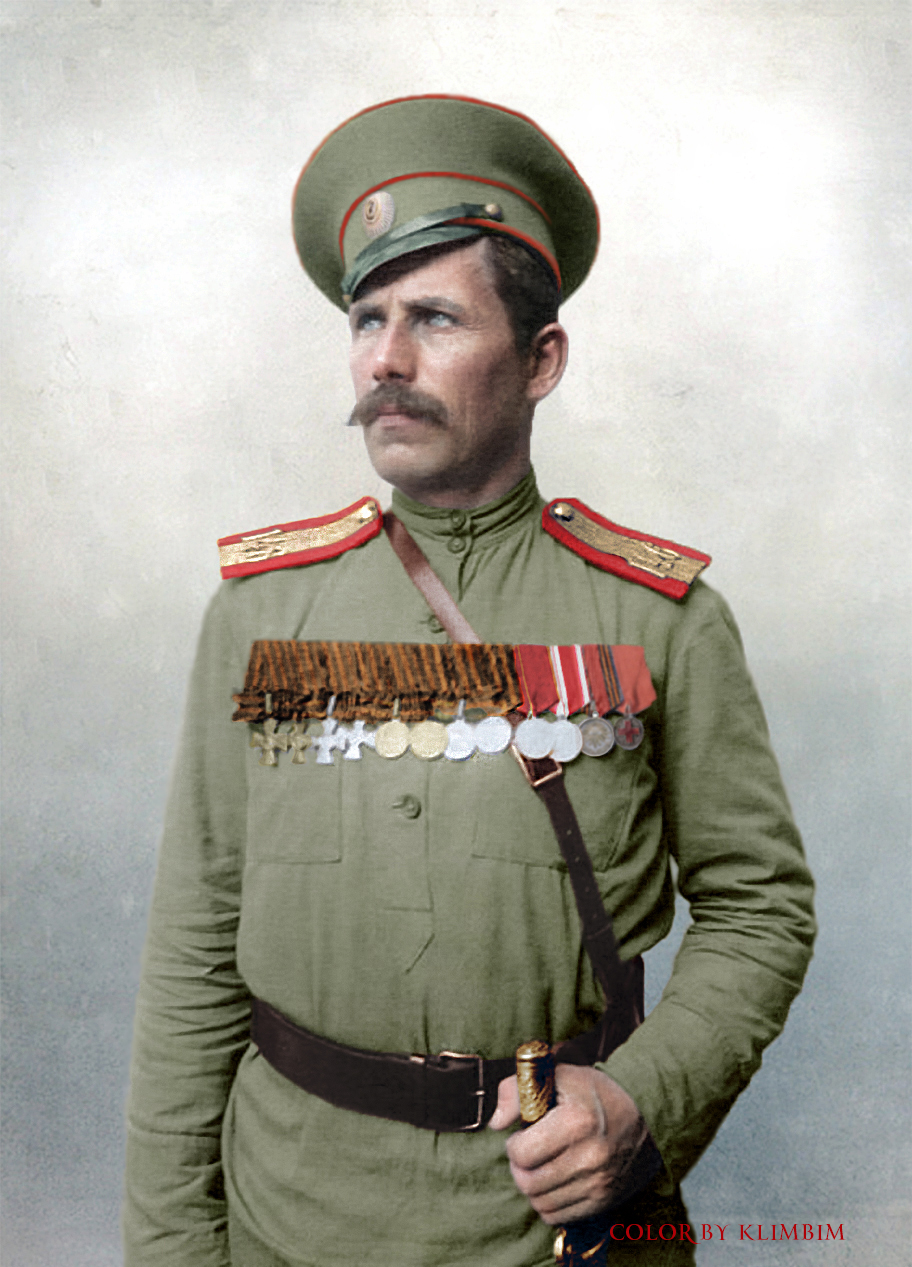 Vasily Karabanov, sub-ensign of the 146th Tsaritsyn Infantry Reg