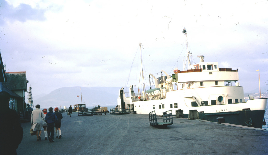 1969 FERRY COWAL Cowal Ferry from Dunoon