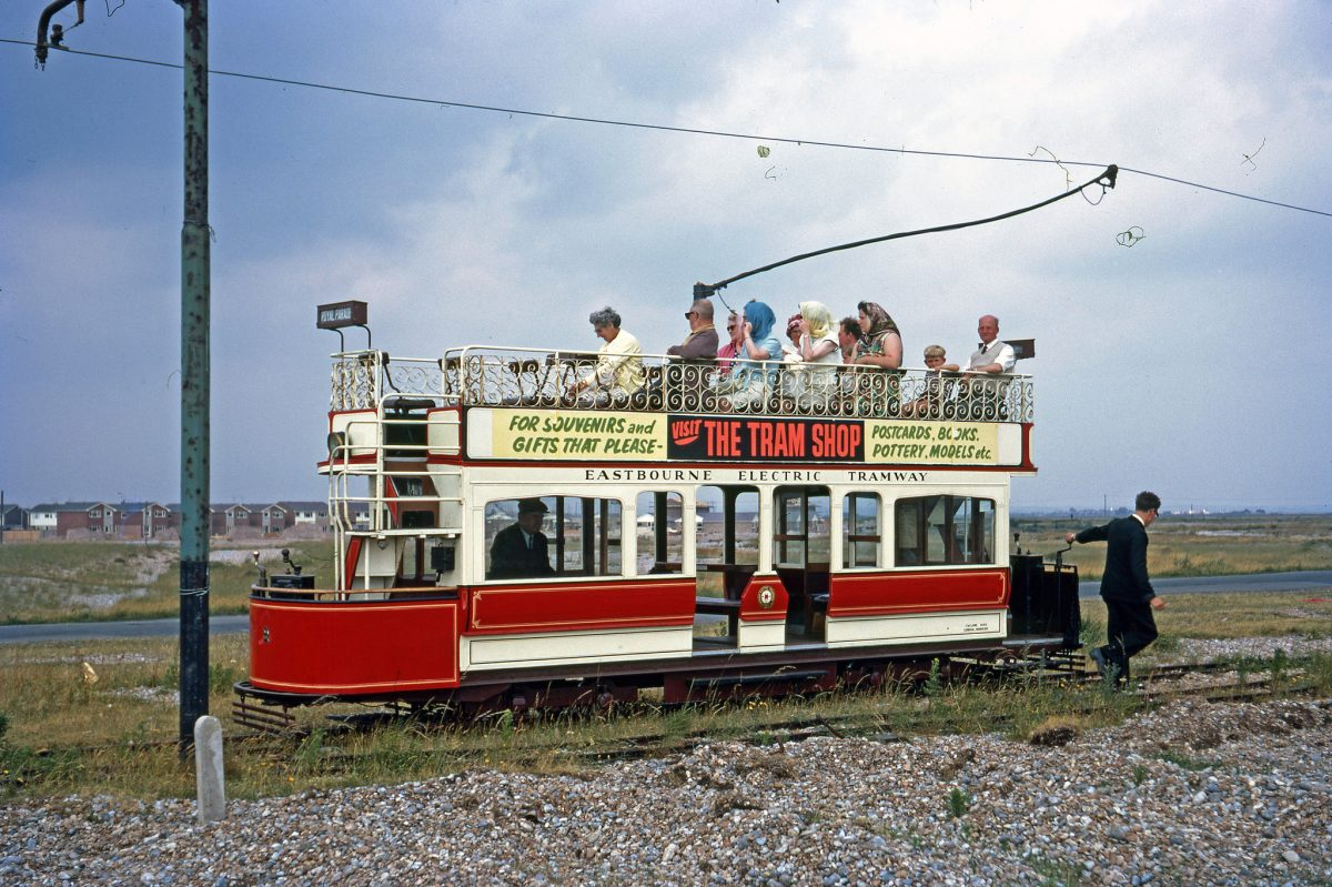 Seaton Trams - 1971