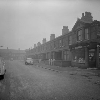 Photographs of an Austere and Dour Manchester from 1963
