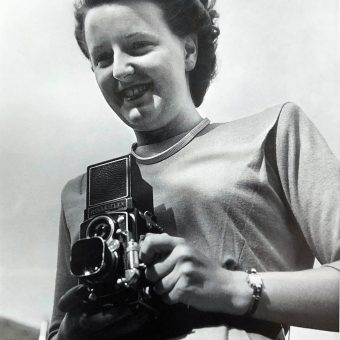 Doreen Spooner the First 'Camera Girl' on 'Testosterone Alley'