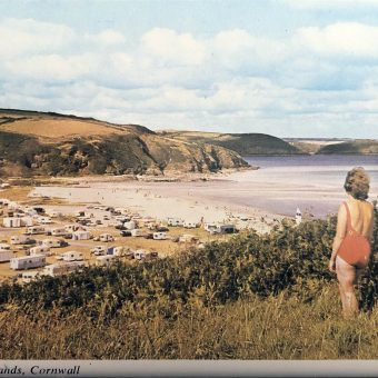 A Dozen 'Mundane' Cornwall Postcards Found in a Penzance Hardware Shop