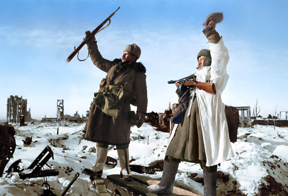 Liberation Of Stalingrad 1943
