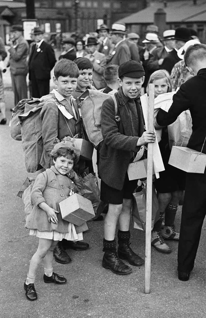 wales evacuees world war 2