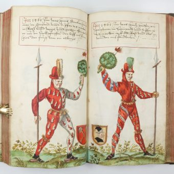 Fabulous Fashion from the Schembart Carnival (Nuremberg 1540)