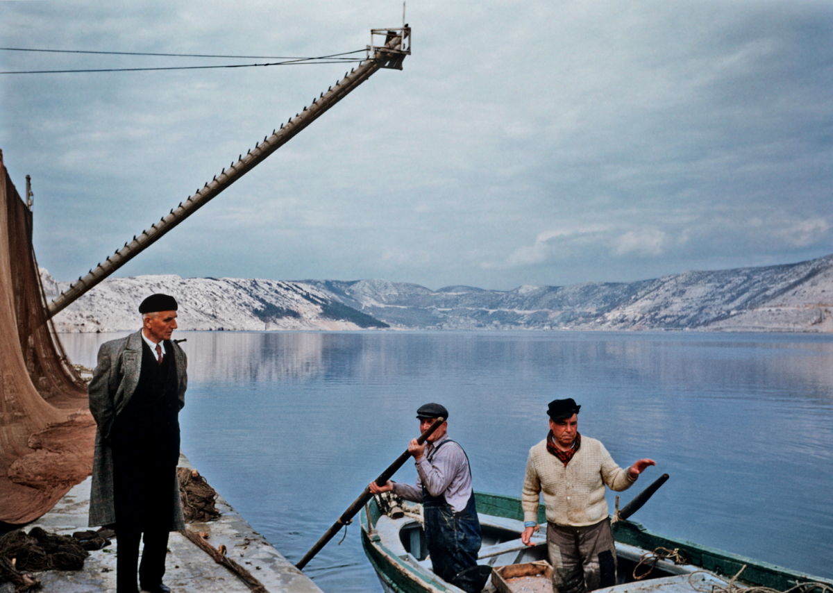 Kodachrome Near Biograd, Croatia, 1955