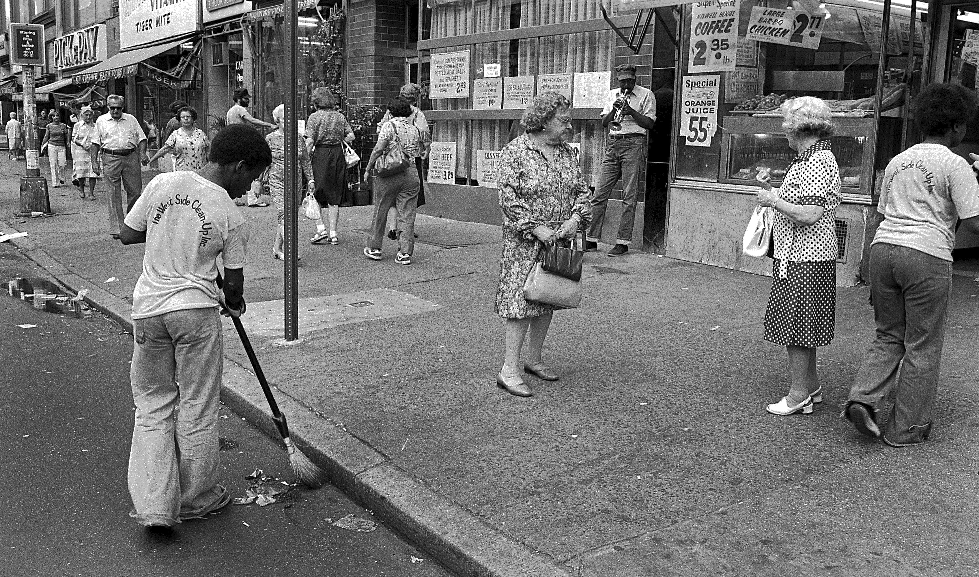 """The West Side Clean-Up Inc."" 1978 Manhattan, NY., 1978"