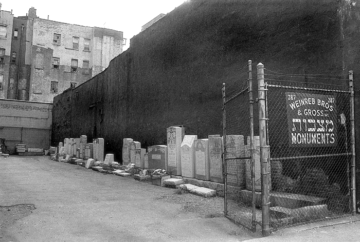 1978 Jewish Monuments Manhattan, NY
