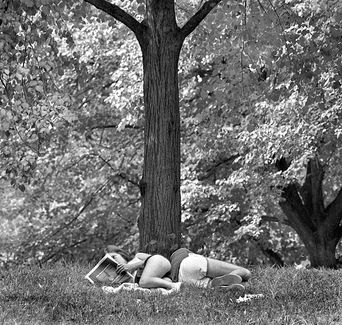 Urban Paradise, 1978 Central Park, Manhattan, NY 1978