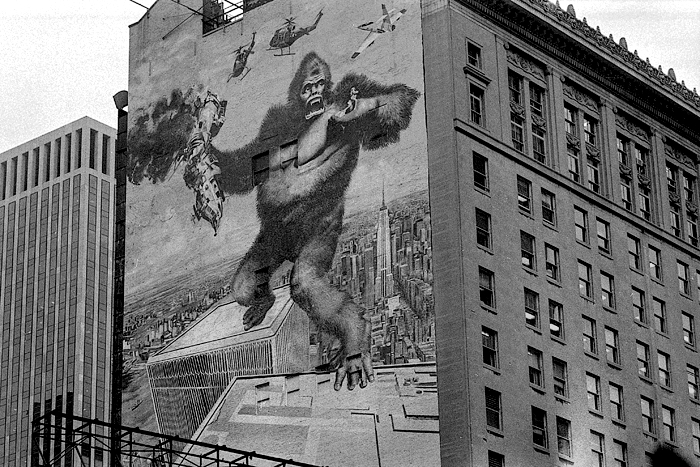 King Kong again, 1978 Manhattan, NY 1978