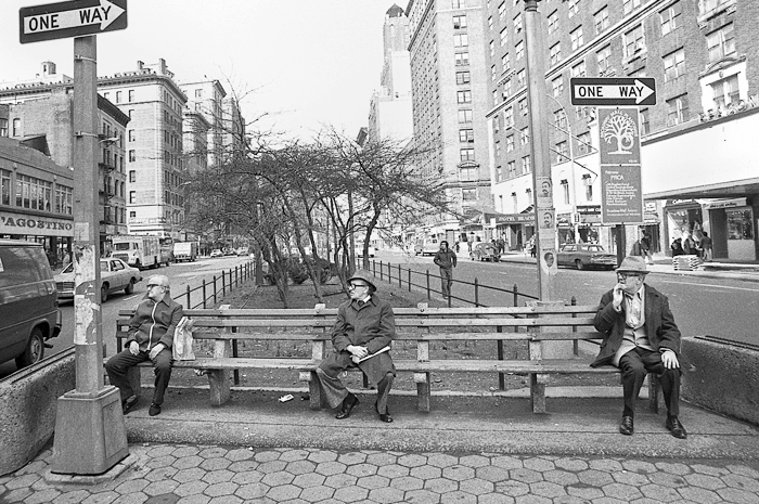 One way, 1978 Manhattan, NY., 1978