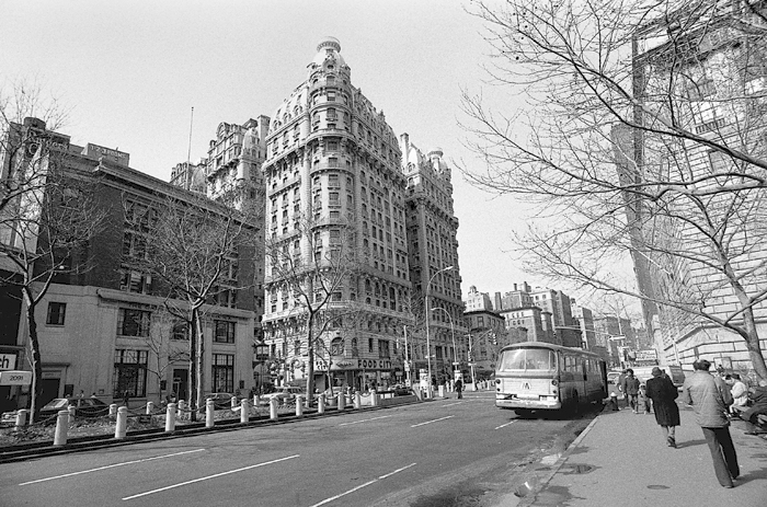 Ansonia building, 1978 *It was added to the National Register of Historic Places in 1980 Manhattan, NY., 1978