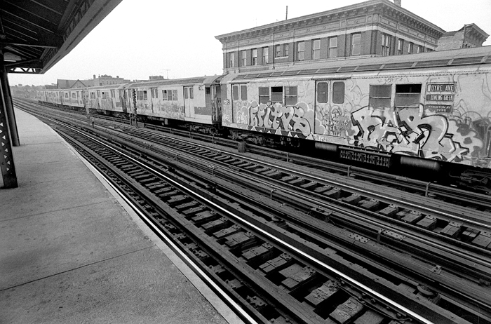 Freeman St. Station, 1978 The Bronx, Manhattan, NY