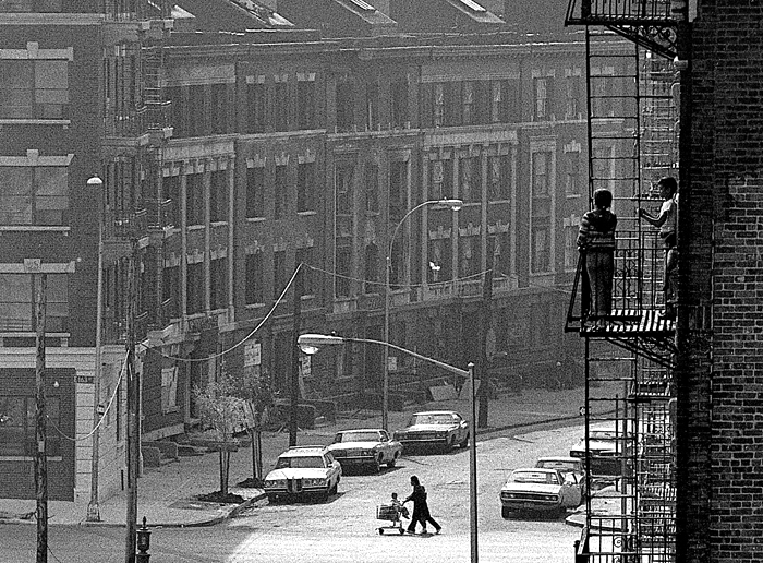 Daily life in The Bronx, 1978 The Bronx, Manhattan, NY
