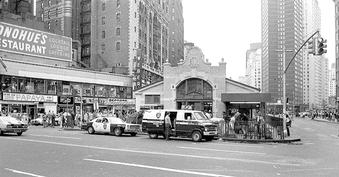 72nd. St. Station, NYC 1978