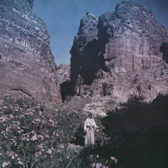 Lush Color Autochromes of Petra 1907 – 1940