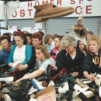 Every Saturday at Great Homer Street Market, Liverpool in the 1980s and 90s