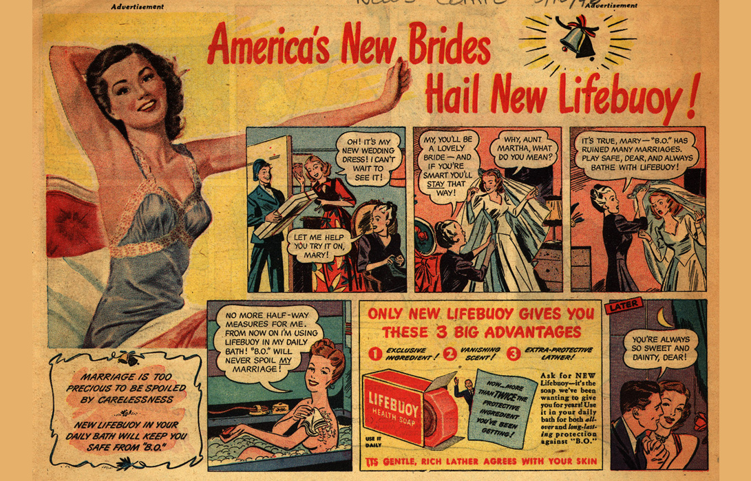 Lifebuoy soap adverts