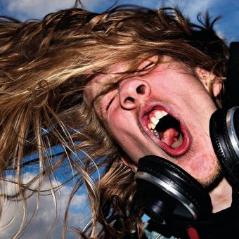 Headbangers: Electric Photos Of Metal Fans In Head Thrashing Ecstasy