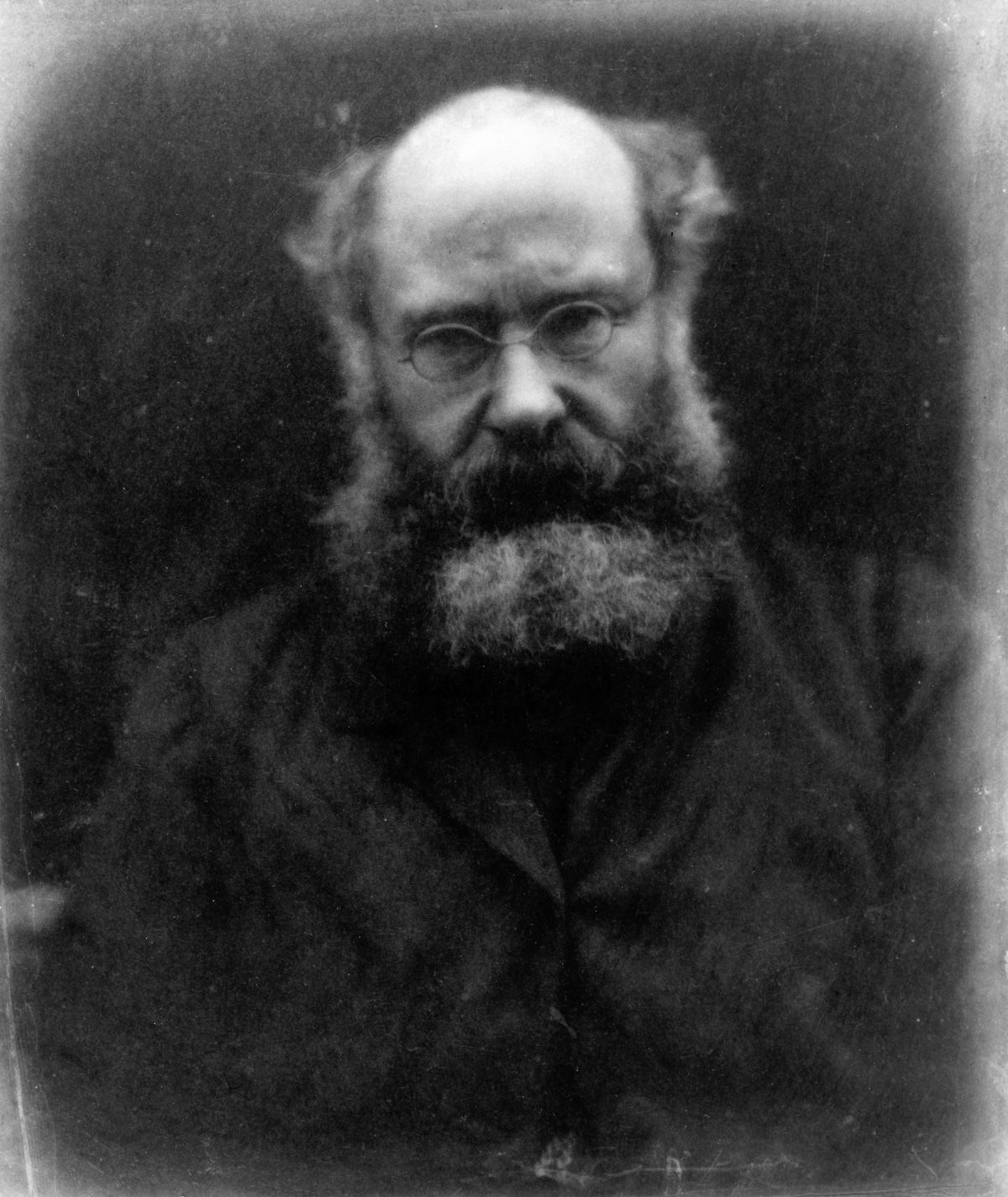 Julia Margaret Cameron portraits 1864 Writer Anthony Trollope.