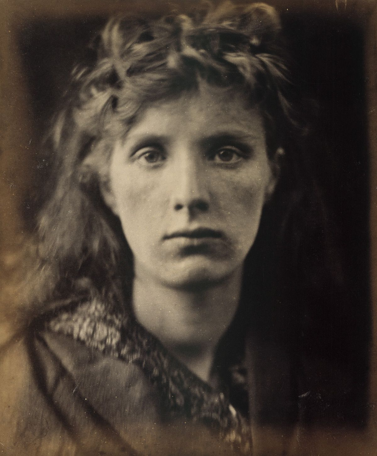 1866 The Mountain Nymph Sweet Liberty. Julia Margaret Cameron portraits