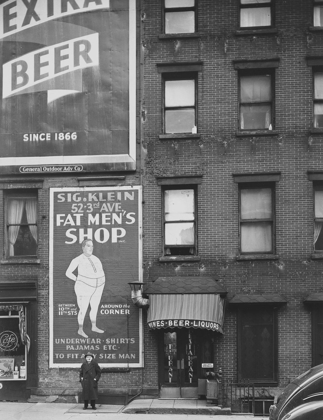 1946 Third Avenue and Bowery.