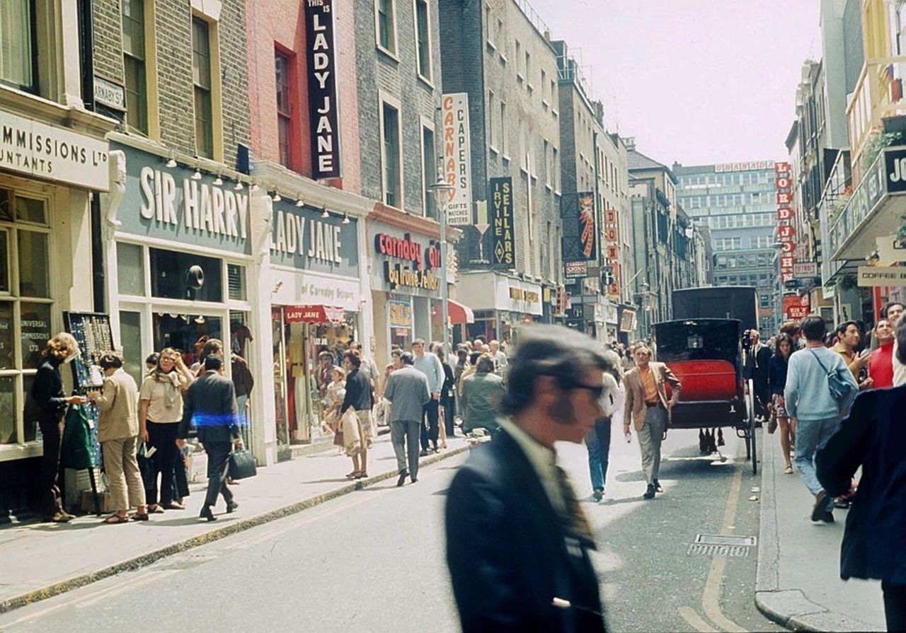Once the 'Swingingest Street in the World': Pictures of Carnaby Street 1924-1975