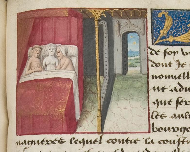 Cent Nouvelles Nouvelles France 15th Century sex