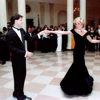 When Princess Diana Danced With John Travolta (1985)