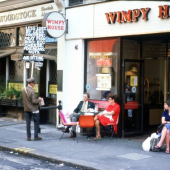 Captivating Colour Photographs of London, 1970-1974