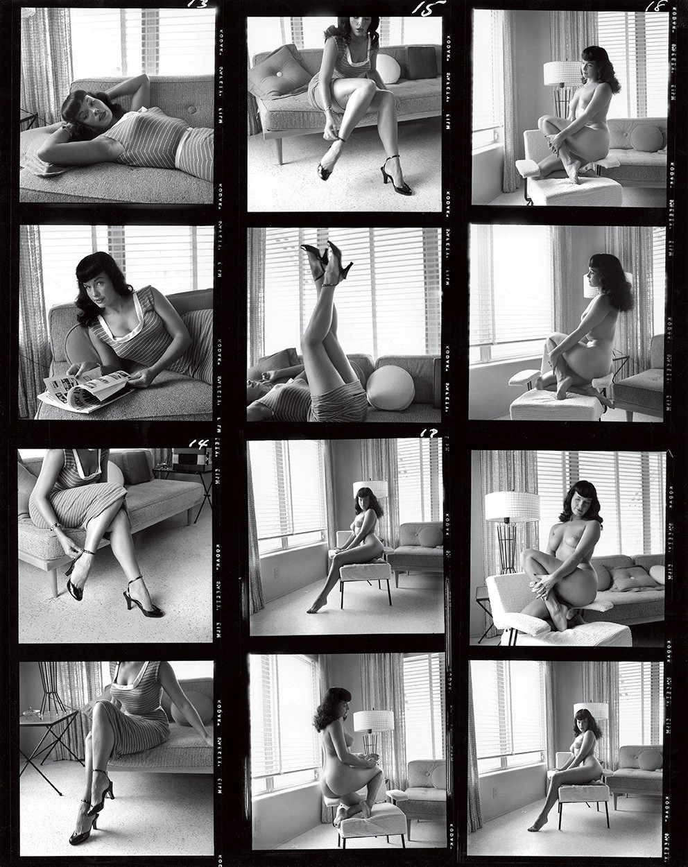Bettie Page by Bunny Yeager Courtesy of Rizzoli