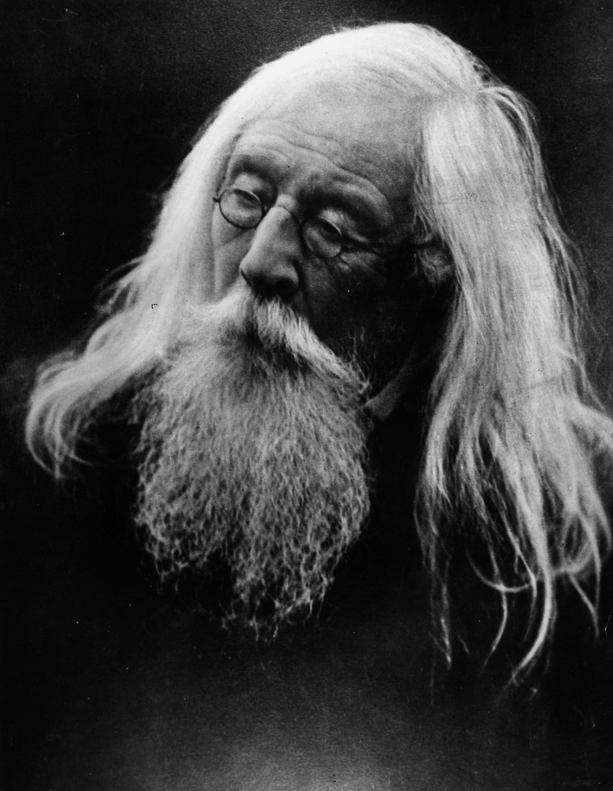 c. 1870 Wise Old Man, a portrait of Cameron's husband, jurist Charles Hay Cameron.Julia Margaret Cameron portraits