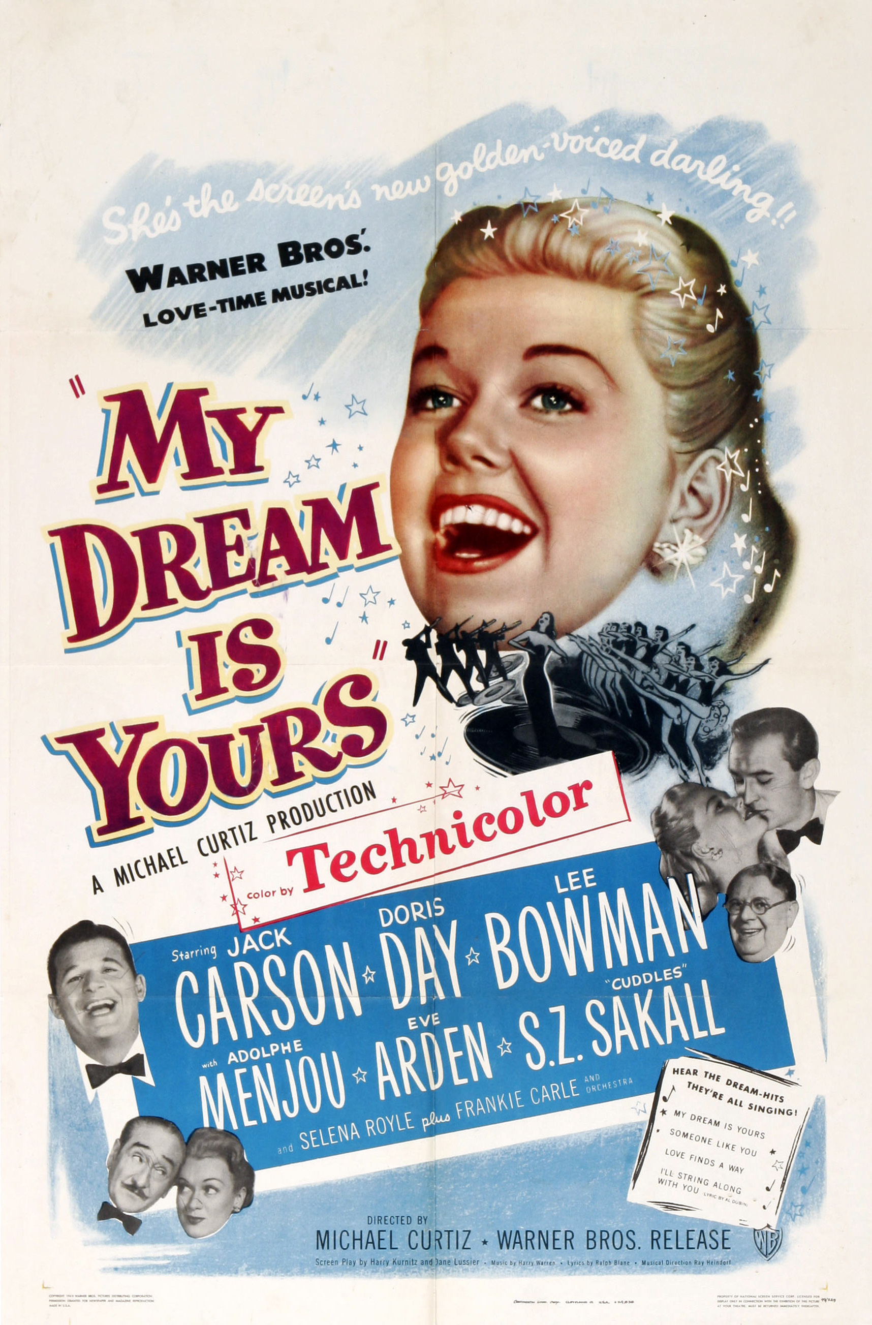 my dream is yours doris day