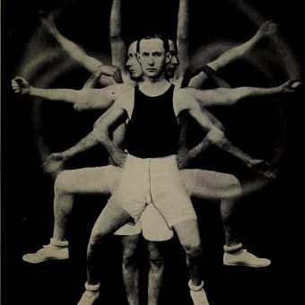 24 Great Photos From 'Physical Training for Business Men' (1917)