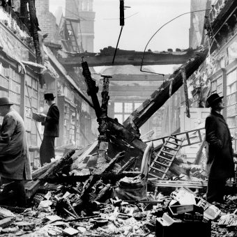 London Library Miraculously Survives Blitz (1940)