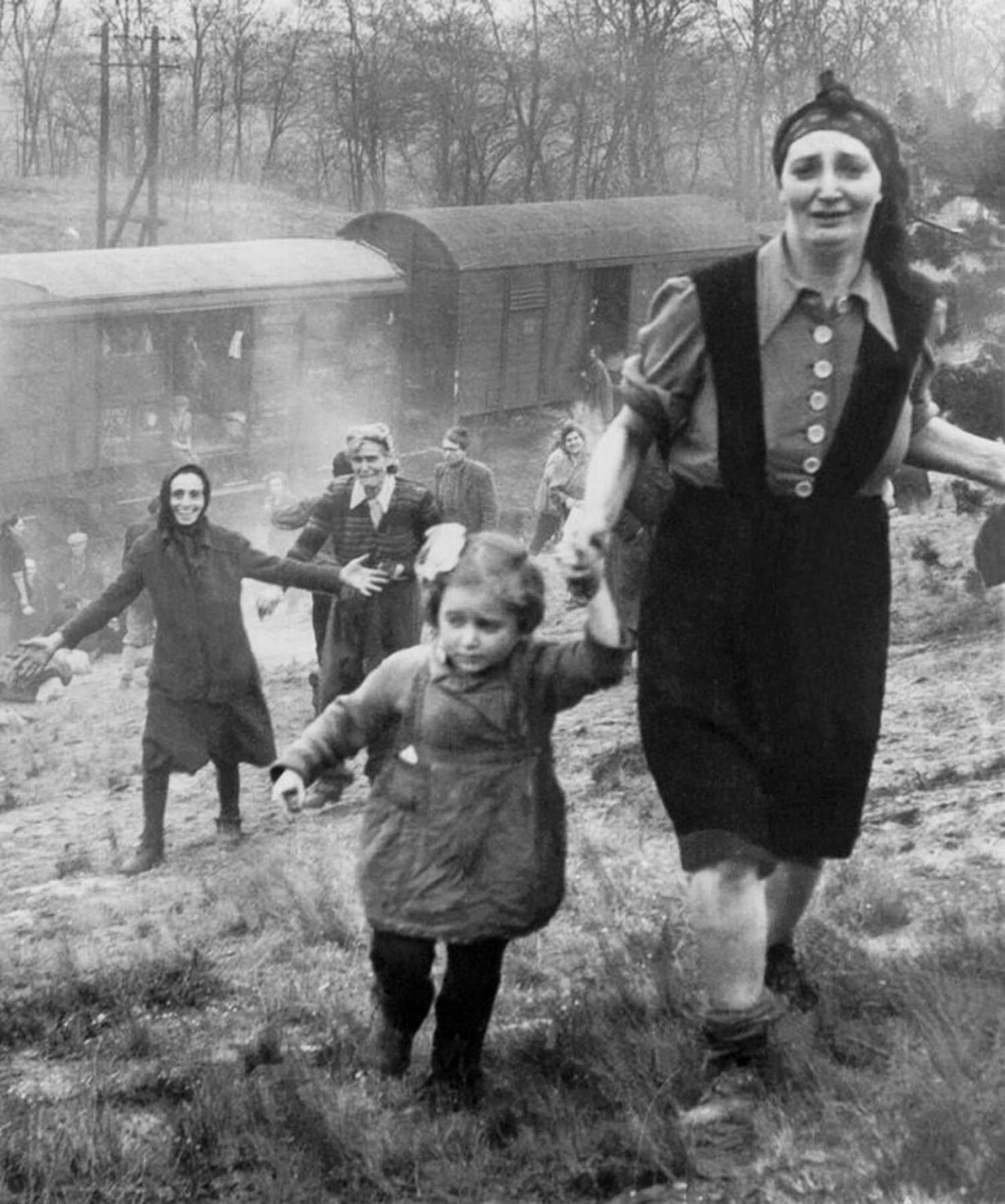 The True Story of The Holocaust Train Rescued From The Heart of Darkness – Friday, April 13th, 1945