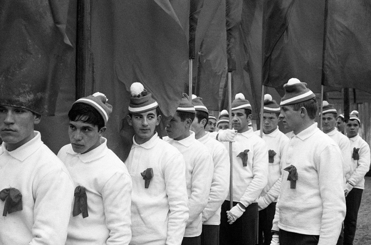 Members Of The Parade, Moscow, 1974