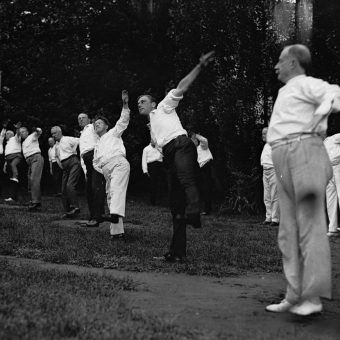 """Hands, Hips, Head, Grind, Grate and Grasp"" – Woodrow Wilson's Training Camp in 1917"