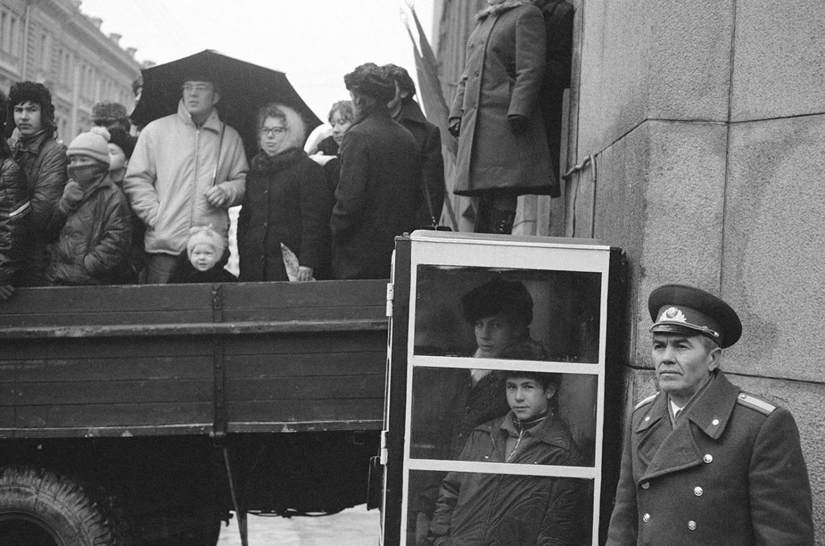 Watching the Parade 2, Moscow, 1974