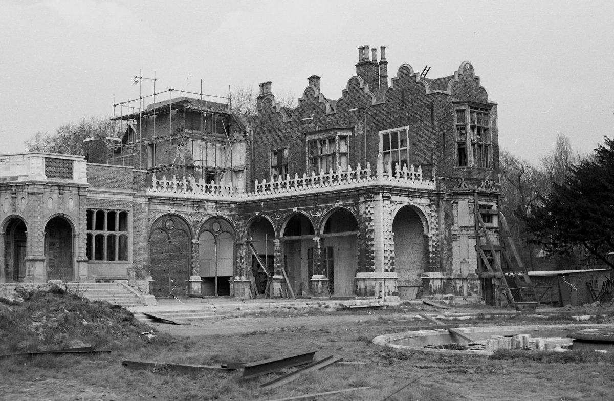 Holland House after the attack