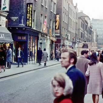 Photos of the West End of London, 1965-1968