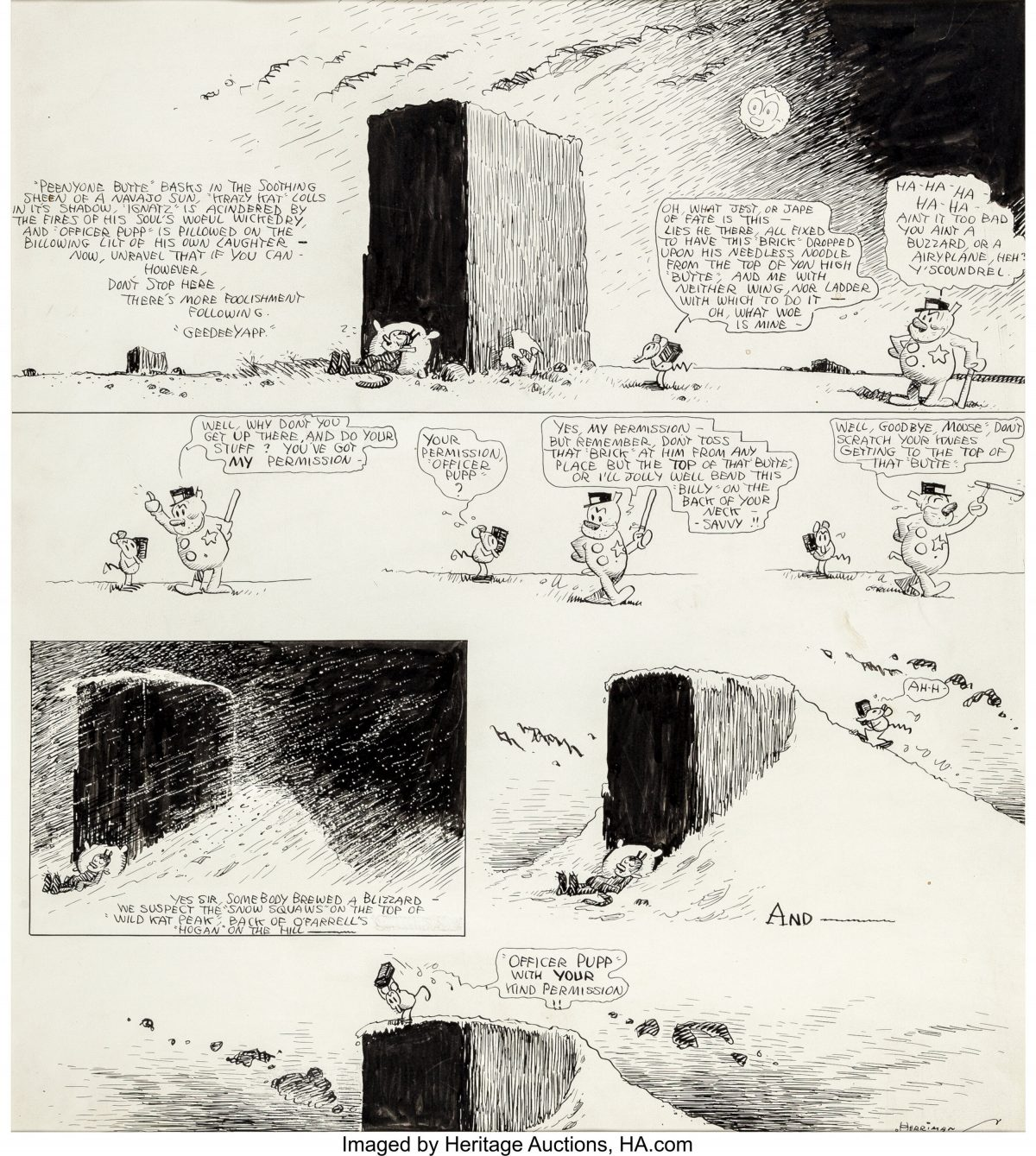 Krazy Kat comic strip