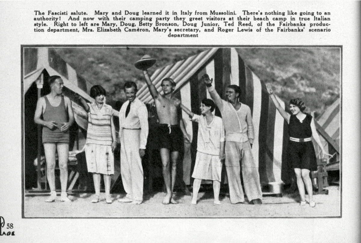 The Surprising Fans Of Mussolini And His Trip To London In 1922 Flashbak