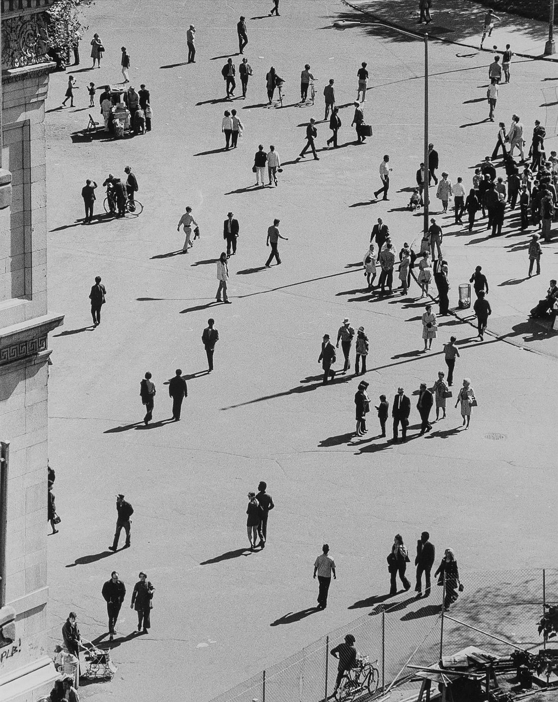 Birds Eye View, Washington Square Park, September 25, 1969,