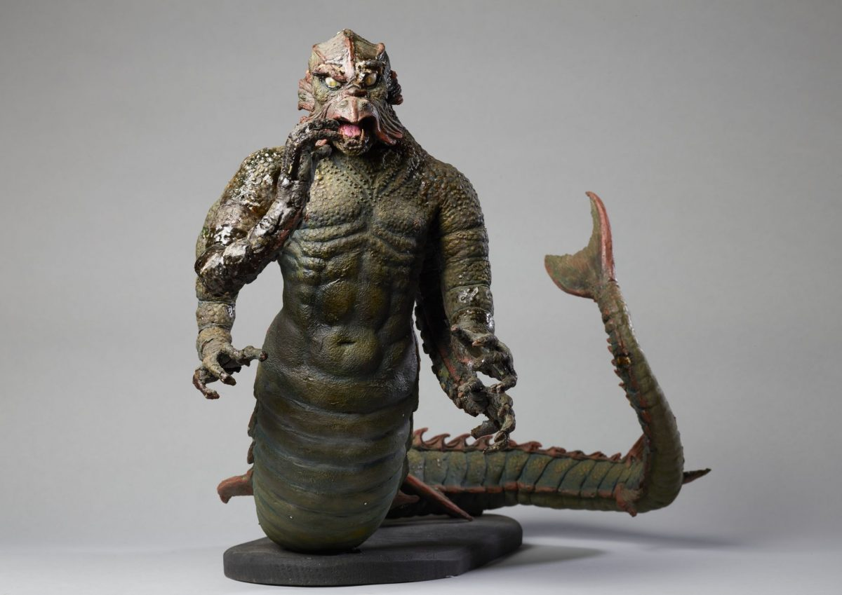 Model of the Kraken from Clash of the Titans, c.1980 by Ray Harryhausen (1920-2013) Collection: The Ray and Diana Harryhausen Foundation (Charity No. SC001419) © The Ray and Diana Harryhausen Foundation Photography: Sam Drake (National Galleries of Scotland)